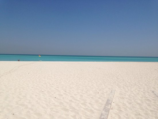 The St. Regis Saadiyat Island Resort : Golden sand