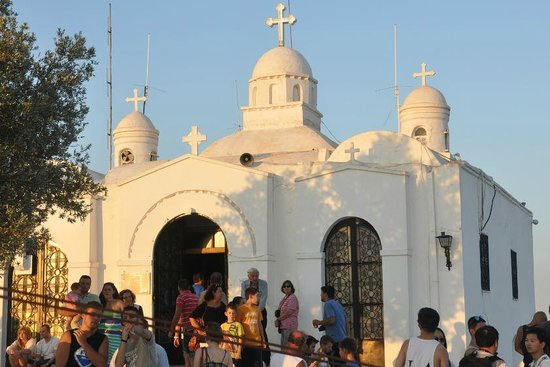 Mount Lycabettus : Mt. Lycabettus chapel