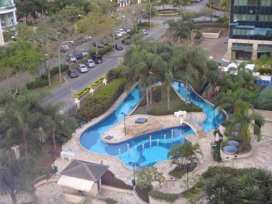 Plaza Barra First : Vista Piscina hotel