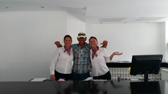 FERGUS Style Cala Blanca Suites: Departure photo with Yanitsa & Marina