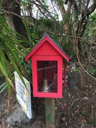 Anse Chastanet : The fire bell!