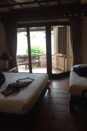 Montien House: Twin room - nice balcony