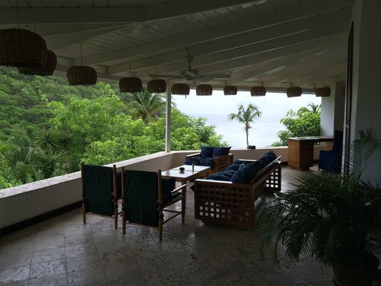 Anse Chastanet: Sitting area in suite