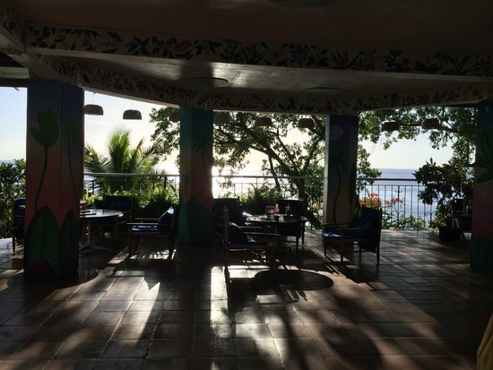 Anse Chastanet: The bar