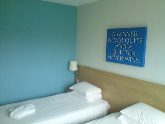 Lilleshall, UK: Twin Room