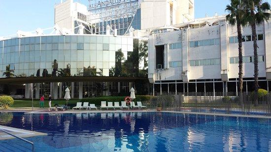 Silken Al-Andalus Palace Hotel: Struttura
