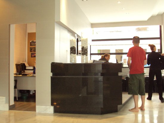 Nautico Ebeso Hotel : Rezeption