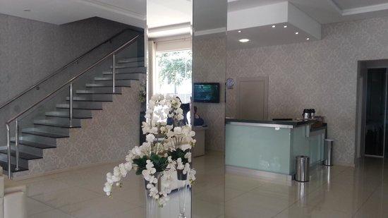 Pietro Angelo Hotel: Recepção do hotel. Achei muito bonita!