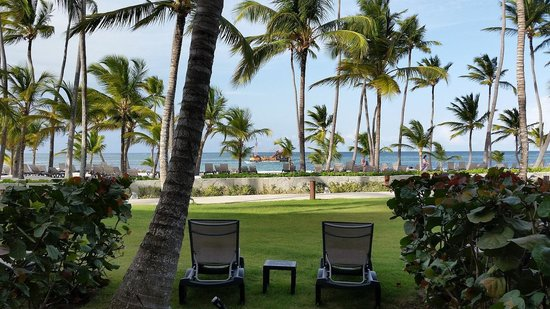 Barcelo Bavaro Beach - Adults Only: View from patio.