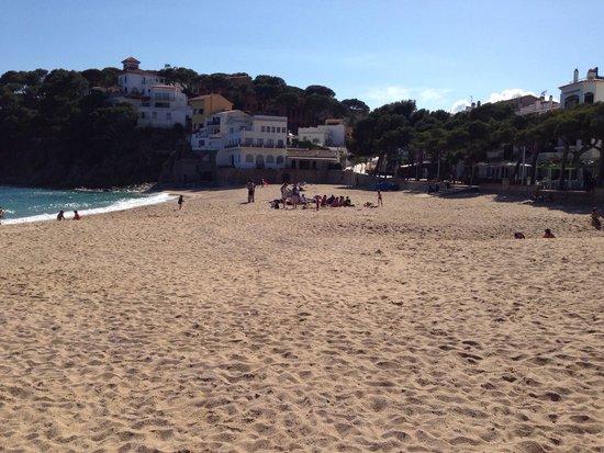 Hotel Llafranch: beach