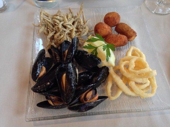 Hotel Llafranch: dinner