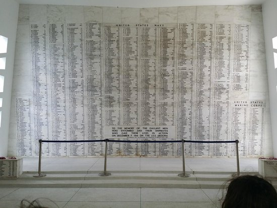 Pearl Harbor: Names of those that paid the ultimate price that day