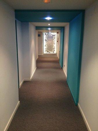 Hotel Spa La Terrassa : Pasillo habitaciones