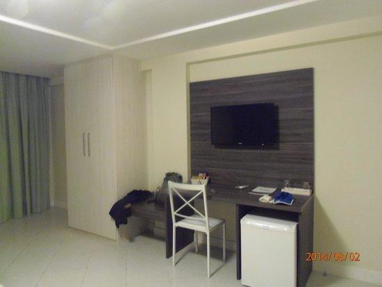 Athos Hotel: Tv de tela plana