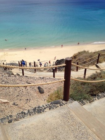 TUI MAGIC LIFE Fuerteventura: Steps down to the beach
