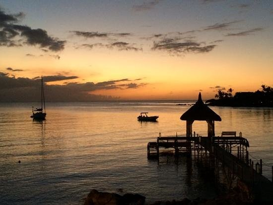 Maritim Resort & Spa Mauritius: beautiful sunset