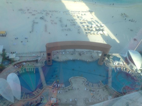 Beach Palace: View from above