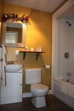 Le Gite du Fleuve : salle de bain