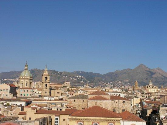Ambasciatori Hotel : View from breakfast terrace
