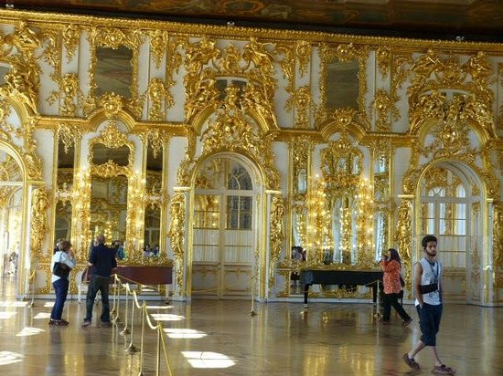 Eremitage und Winterpalais: One of many gold rooms