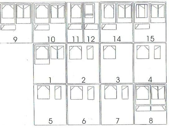 New Haven Motel: Room Plan