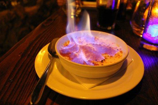 Blue Lagoon Restaurant - Disneyland Paris : Creme Brulee