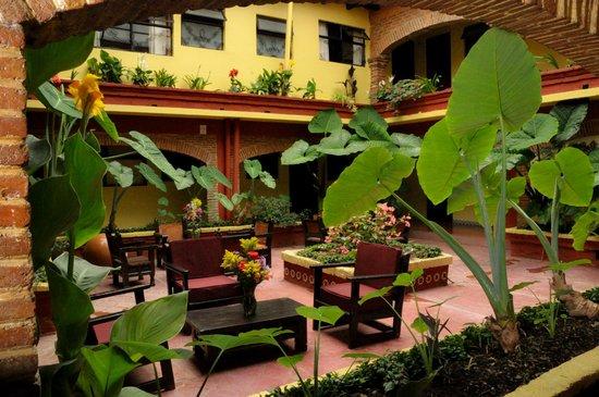 Hotel Palacio de Moctezuma: verde!!