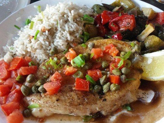 La Dama Juana: grilled fish (local one)