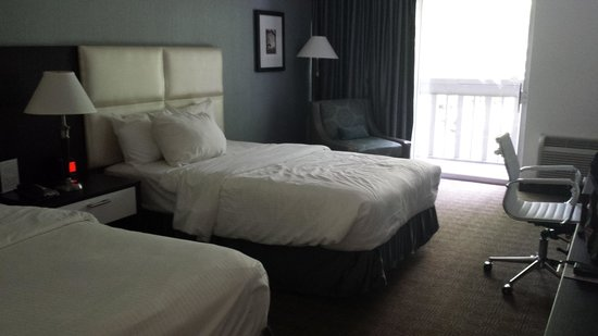 Toronto Don Valley Hotel & Suites: Deluxe double room