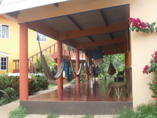 Cabanas Rolo: portico