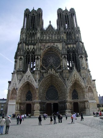 Cathédrale Notre-Dame de Reims : Niesamowity widok