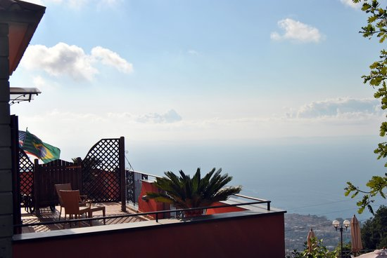 Hotel Prestige Sorrento: View from hotel