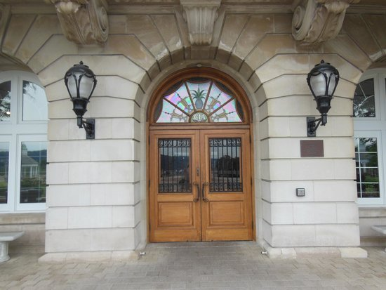 The front door of the Culinary Institute of America