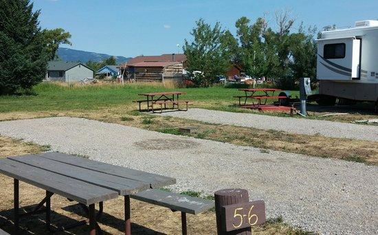 Teton Valley RV Park: the view