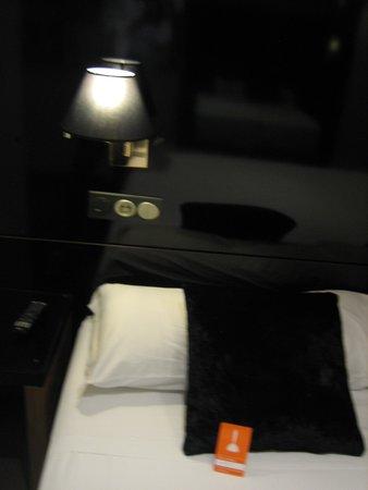 Room Mate Leo: detalle, la cama super comoda