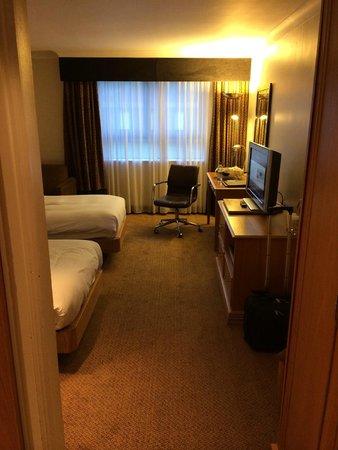 Hilton Cobham: Old fashioned room