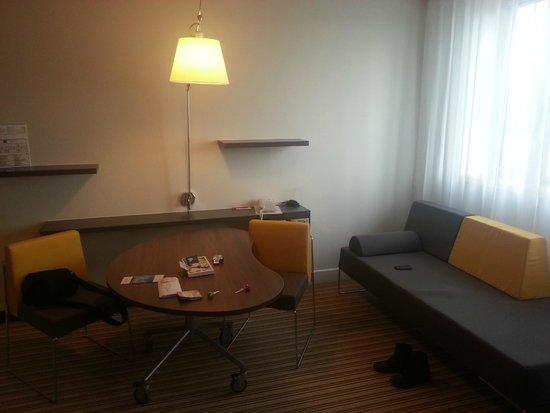 Novotel Suites Lille Europe hotel: Bureau