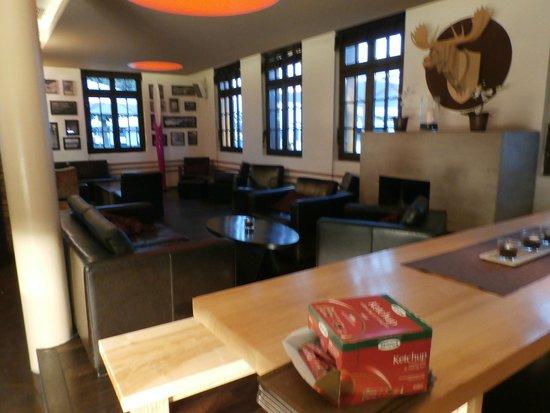 Hafenmeisterei: Lounge area