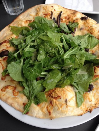 Wild Mushroom and Arugula pizza - Picture of Sauce Pizza & Wine ...