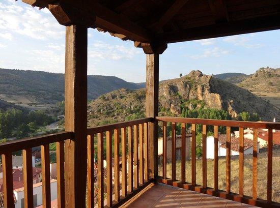 La Posada de Santa Ana: Zicht vanop terras