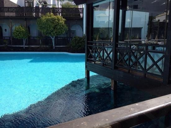 Hotel THe Volcan Lanzarote: vue du restaurant