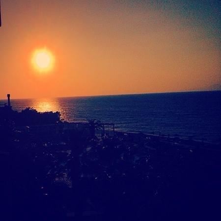 Sun Beach Resort Complex: sun beach sunset
