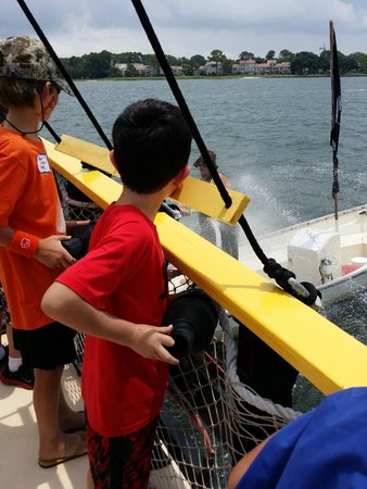 Pirates of Hilton Head : Blasting Stinky Pete