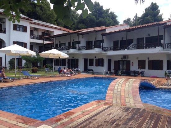 Delphi Hotel : Poolarea