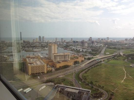 Harrah's Resort Atlantic City: The view in my room