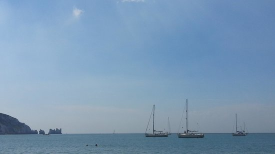 The Needles: Lovely day on the Isle of Wight