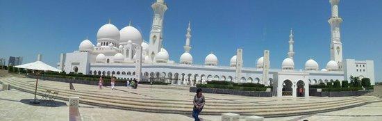 Mosquée Cheikh Zayed : MEZQUITA ABU DHABI - VISTA PANORAMICA