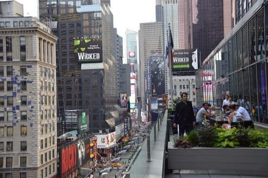 Novotel New York Times Square : balcony2