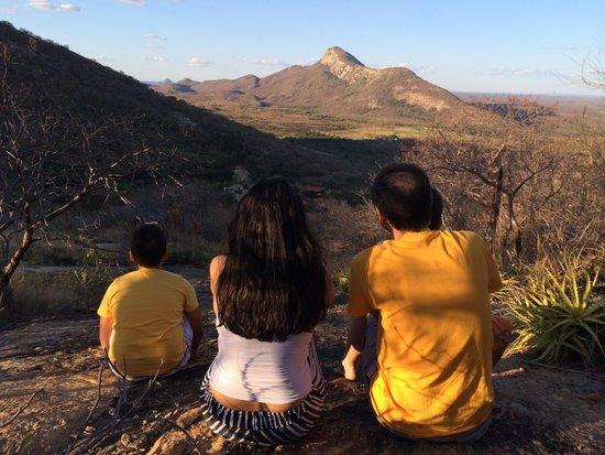 Pedra dos Ventos Resort: Vista de uma das trilhas