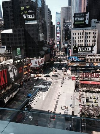 Novotel New York Times Square : view from balcony